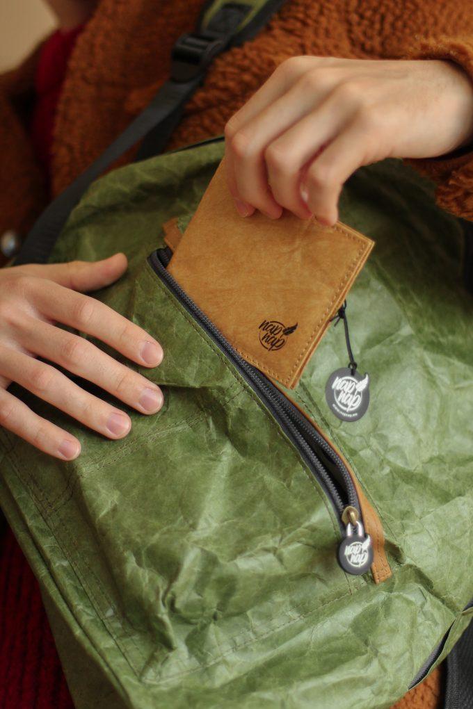 Napnap Luzak Lekki portfel z tyveku na karty kredytowe