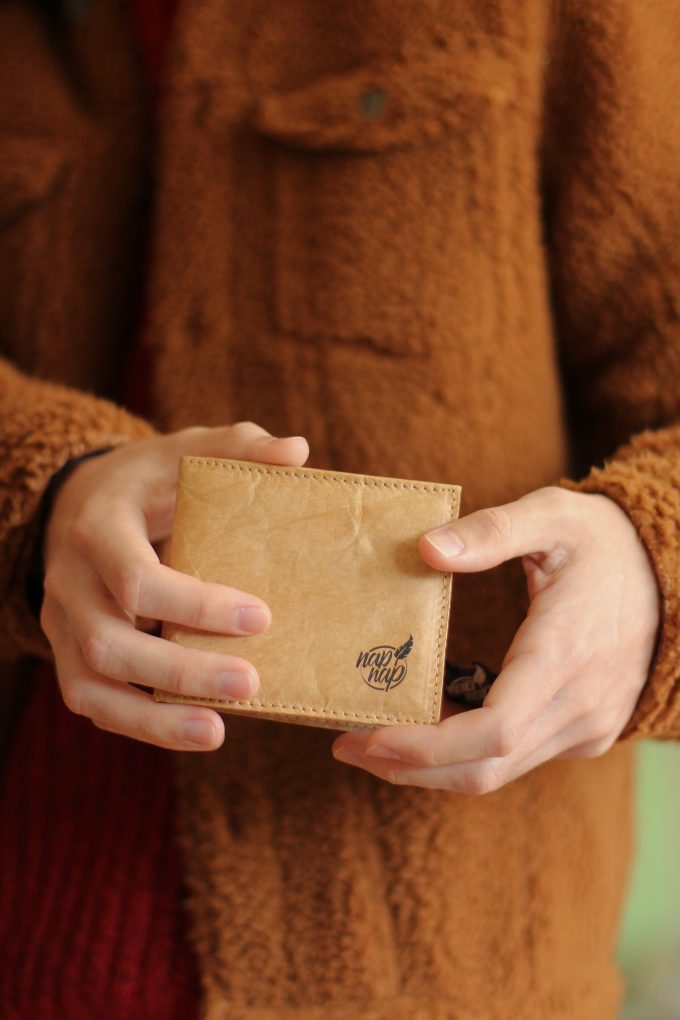 Lekkie i eleganckie portfele z tyveku, damskie i męskie, portmonetka