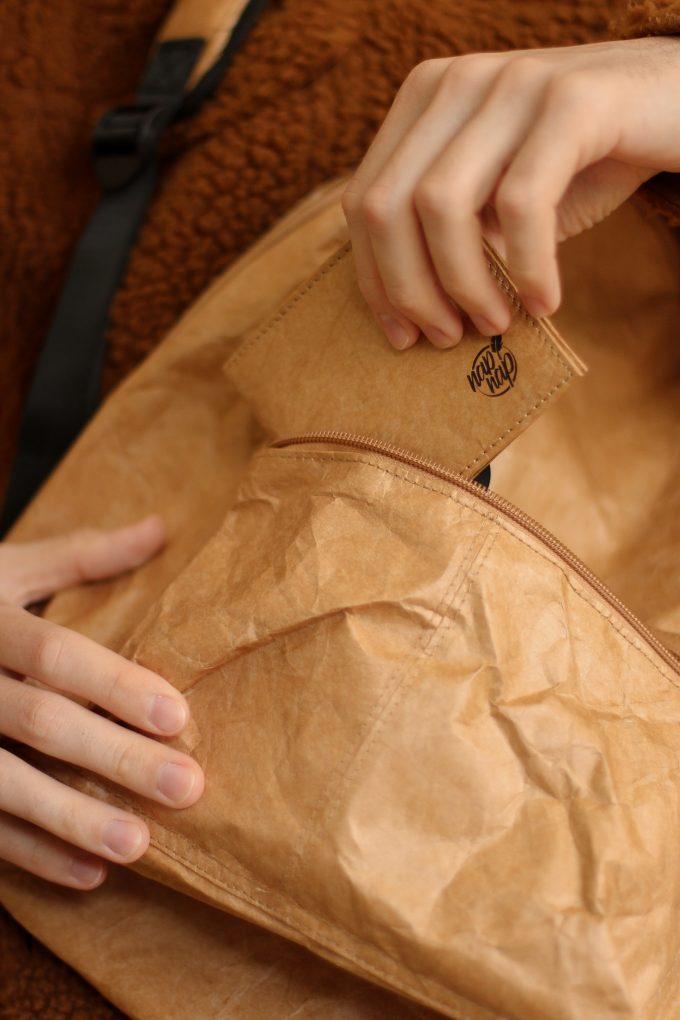 Torby, wodoodporne plecaki z tyveku, portfele Napnap